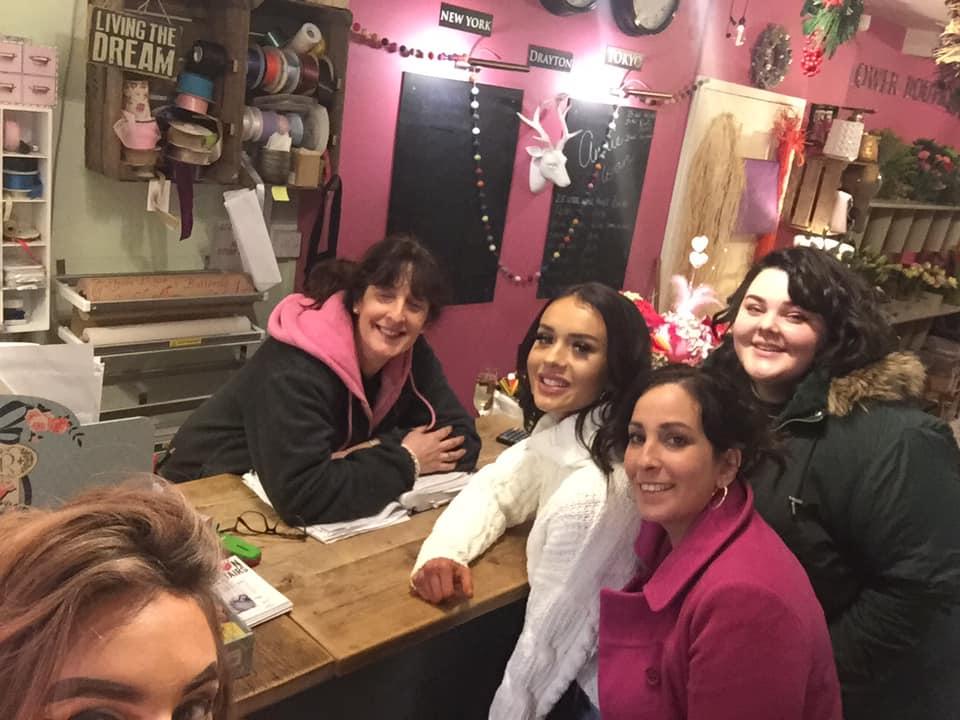 the salon upstairs team market drayton