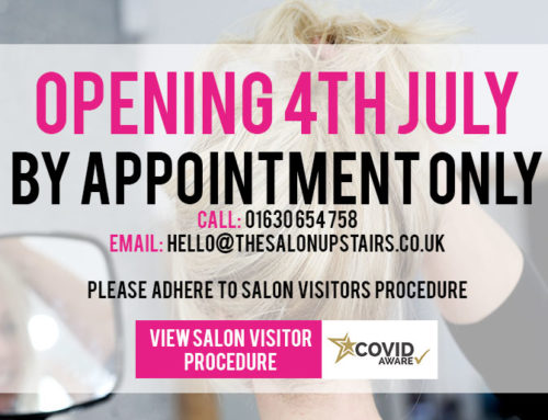 The Salon Upstairs Visitors Procedure